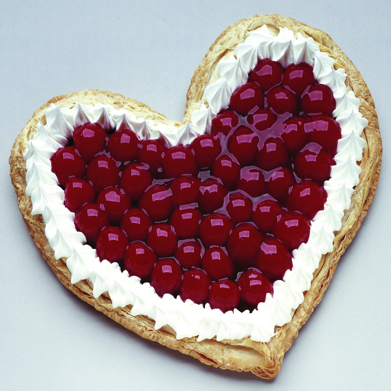 Cherry chocolate Heart
