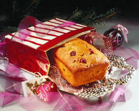 Christmas Bread with Cherry Juice