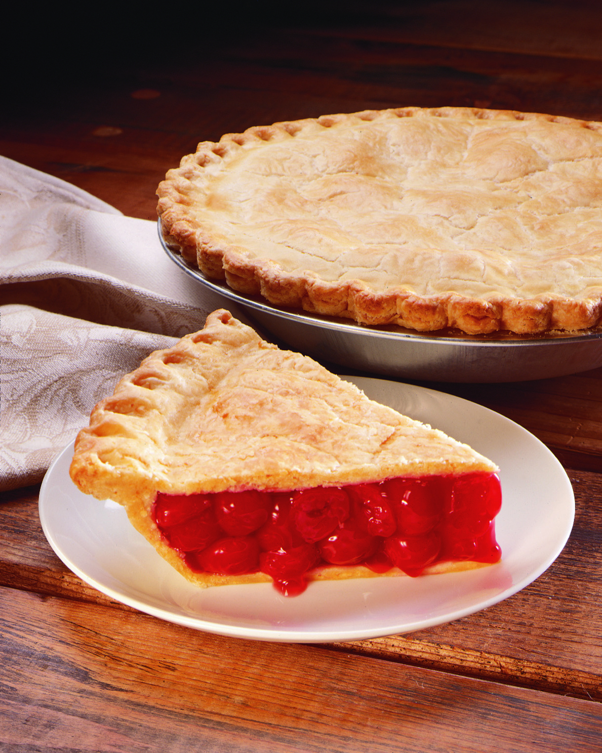 traditonal cherry pie